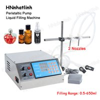 GZL-80 Semi Automatic Peristaltic Pump Liquid Filling Machine Perfume Juice Essential Oil Bottle Water Making Machines 0.5-650ML With Double Heads
