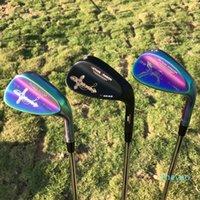 2021 гольф клинья датанги дракона Phoenix / Crucifix клинья кованые 52 56 60 градусов с динамическим золотом S300 вал гольф-клубы