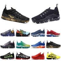 Tercihli Satış Ayakkabı En Kaliteli Yastık OG TN Plus Erkek Kadın Koşu Ayakkabıları Midnight Donanma Degradeler Mavi ABD Coquettish Mor Sneakers