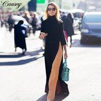 Dubai Abbigliamento islamico Abito musulmano Delle Donne autunno Fancy Fancy Abaya Abiti Causal Calusal Dress Caftano Robe Turco Plus Size Moroccan O0tb #