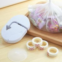 Bag Clips Impulse With Tape Plastic Sealing Machine Household Kitchen Food Seal Packing Closer Storage Saver Capper