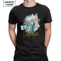 Shindy Dreams Rap Bushido T Shirt for Men Print Clothes Short Sleeve Vintage T-Shirt O-Neck Cotton Tees Plus Size 210420