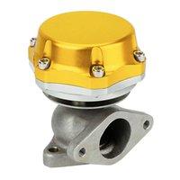 Modificação Universal 38mm Carro Externo Turbo Exahem Manifold ISTGEGATE Peças de Billet