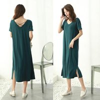 Women's Swimwear 2021 V-neck Women Large Long Dress For Beach Outdoor Summer Party Evening Clothes Girls Prom Gown