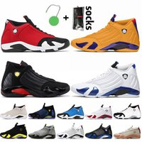 Nike Air Jordan 14 sapatos retro 14 Miss Kobe Lakers 14 Gym Red 14s Mens tênis de basquete tamanho 13 universidade ouro hiper royal criados mens tênis formadores