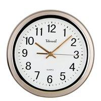 Настенные часы Большие пластиковые часы Современный дизайн Металлическая спальня дома Женщины Klokken Wandklokken Большие часы Декор 50ZB0150