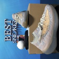 En Kaliteli Koşu Ayakkabıları Batı 380 Alien Mist 3 M Yansıtıcı Sneakers Kil Beluga Üçlü Siyah Beyaz Erkek Bayan Kutusu