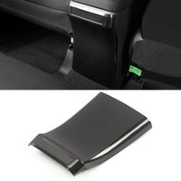 Car Accessories Rear Seat Back Air Vent Outlet Frame Trim Sticker Cover Interior Decoration for Mitsubishi Outlander 2015-2020