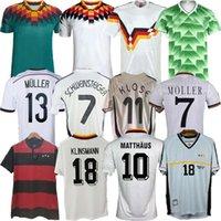 1988 1994 1994 1996 Retro Littbarski Ballack Soccer Jersey Klinsmann Matthias 1998 2014 Camisetas Kalkbrenner Football Allemagne 1996 2004 Möller
