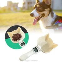 Dog Apparel Pet Scale Scoop Precise Measuring Cup Detachable Cat Scooper Digital Spoon With LCD J01 21 Dropship