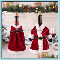 Christmas Festive Party Supplies & Gardenchristmas Decorations For Home Santa Claus Wine Bottle Er Snowman Stocking Gift Holders Xmas Navida