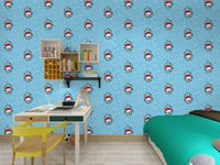 Wallpapers 45cm*10m Roll Size Waterproof Self-adhesive Cartoon Wallpaper Papel De Parede For Living Room And Kids Decorat