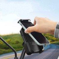 Mobiltelefonhalterung Halterung Ständer Halter Outdoor Reithalterung Motorrad Fahrrad Push-and-Release Navigation Mobile Accessoires
