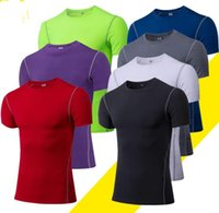 Gym clothes mans bodybuilding sports t shirt crop tops mens t-shirts dry fit pure longline 66018