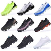 2018 2020 Chaussures Moc 2 Laceless 2.0 Running Shoes Triple Black Mens Women Sneakers Fly White knit cushion Trainers Zapatos36-45