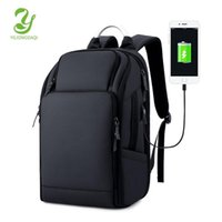 Backpack YILIONGDAQI Multi-function Large Capacity 17 Inch Laptop USB Charging Men Waterproof Casual Travel Bag