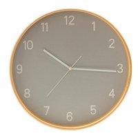 Relógios de parede Nórdico Relógio Moderno Madeira Silenciosa Decoração de Casa Relógios Criativo Sala de estar Decoração Presente Orologio da Pareta