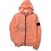 Cptopstoney 경량 자외선 자켓 캐주얼 패션 여름 스포츠웨어 지퍼 후드 간단한 솔리드 컬러 커플 환기 쉽게