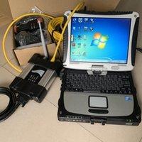 Outils de diagnostic Ordinateurs portables de seconde main CF-19 Tablet CF19 avec outil de réparation de diagnostic automatique pour la voiture MW ICOM Next WiFi logiciel V2021.06 1TB HDD