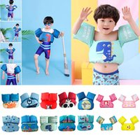 Life Vest & Buoy ! Baby Swim Float Swimming Pool Accessories Arm Floats Trainer Swimsuit Toddler 2-7Y Floating Sleeve