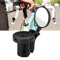 Bike Groupsets Outdoor Cycling Mirror Transparent Easy To Install Black Bicycle Safety Rearview Adjustable