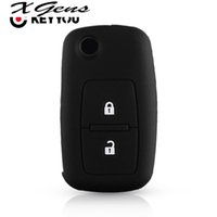 Silicone Rubber Car Key Cover Case For VW Volkswagen Amarok Polo Golf 5 6 7 MK4 Bora Jetta Altea 2 Buttons