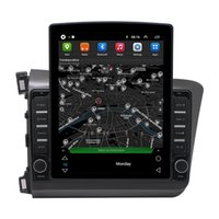 2din Android Car dvd GPS Radio 9.7 inch Vertical Touch Screen Autoradio All In One Navigation for Honda CIVIC 2012-2015