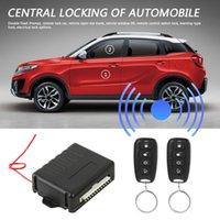 Alarm Güvenlik Araba Sistemleri Cihaz Sistemi Evrensel Uzaktan Merkezi Kapı Kilidi Kiti Anahtarsız Giriş 410 / T252