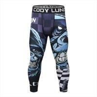 Cody Lundin Spor Sıkıştırma Koşu Kadın Pantolon Tayt Erkekler için Elastik Elastik Sıkı