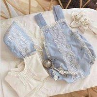 Cekcya Baby Girl Boutique Romper Born Gifts Infantil Cumpleaños Ropa bautismal Personalizar Niñas Niñas Jumpsuit 210821