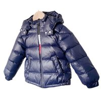 Children Down Coat Kids Winter Outwear Boys Clothes Baby Clothing Hooded Jacket Short Coats Warm B8406