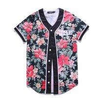 3D 야구 유니폼 남자 2021 패션 프린트 남자 티셔츠 짧은 소매 티셔츠 캐주얼베이스 볼 셔츠 힙합 탑 티 001