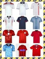 Retro Sheringham Soccer Jerseys 1994 1995 1996 1998 Clásico Vintage Gerrard Owen Robson Gascoigne Shearer Beckham Southgate Rooney Fowler 90 92 94 1990 1992 Pie