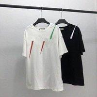20 ss männer t-shirt designer briefs druck crew hals casual sommer atmungsaktive herren womens t shirts einfarbig tops teen großhandel g9av #