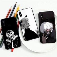 Cep Telefonu Kılıfları Tokyo Ghoul De Moda Anime Kaneki Ken Funda Teléfono Para Xiaomi Redmi Not 7 8 9 T K30 Max3 S 10 Pro Lite Cubierta Casco