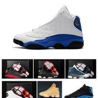 Histoire de vol Chicago 13s Chaussures Designer Nouveaux hommes Bred Flint Hyper Royal 13 Baskets Sports Bottes à vendre