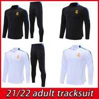 20 21 Real Madrid Adult Tracksuit HRFC Pantaloni HRFC Kit classico 2021 Humanrace Soccer Training Suit Man Utd Human Race Calcio Tuta da calcio