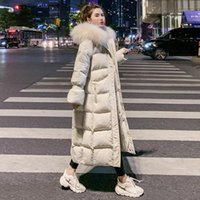 Giacca da donna PUFFER GIACCA 2020 Inverno per Capispalla Donne Parkas Parka Pelliccia con cappuccio in cotone imbottito Cappotto femminile caldo Outwear1