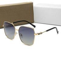 Top Designer Mode Marke Frauen Sonnenbrille Luxus UV400 Outdoor Cat Eye Sun Glassüren Polaroidobjektive mit Box