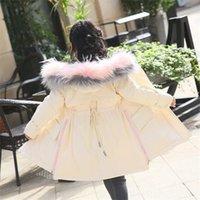 Children's down jacket girls long girls 2018 new warm fashion Wholesale sales 811 X2