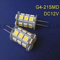 Ampoules haute qualité DC12V G4 LED Crystal Lights Light décoratif 12VDC Lampes GU4 Downlights 50pcs / Lot