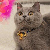 الحيوانات الأليفة طوق القط شخصية قلادة طول العمر قفل بقعة الجملة جرس جرو لوازم الياقات يؤدي