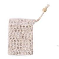 Natural esfoliante maglia sapone sapone sapone sapone sapone sapone sapone portabicchieri per doccia bagno schiuma e asciugatura BBylem HWD6221