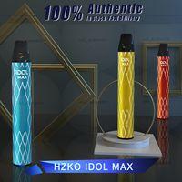 Original Hzko Idol Max Jetable Vape Pen 2000 Puffs Kits Strater Kits VS Pré-remplis