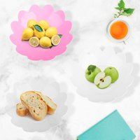 Dishes & Plates Spot 3PCS Product Fruit Tray Plastic Candy Living Room European-Style Melon Seed Bowl Snack Box Tableware