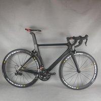 سيراف الكربون دراجة ايرو الطريق الكامل دراجة مع شيمانو r7000 groupset mavic الألومنيوم عجلات الكربون دراجة TT-X2