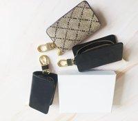 Последний ключ Chiain кошелек для женщин мужчин дизайнерские бренд держатель бренда монет кошелек Pochette женская сумка с коробкой