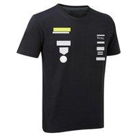 F1 Racing camiseta Fórmula One Team Uniforme de fábrica con poliéster de verano Secado rápido para hombres de manga corta y personalización de mujeres