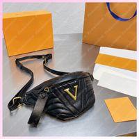 Herren Frauen Taille Taschen Womens Bumbback Brusttasche Crossbody Luxurys Designer Taschen Fanny Pack Outdoor Umhängetaschen Designer Fannypack 2105151l