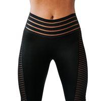 Women's Leggings Yoga Pants Mesh Stitching Cross-Border Fitness Sports